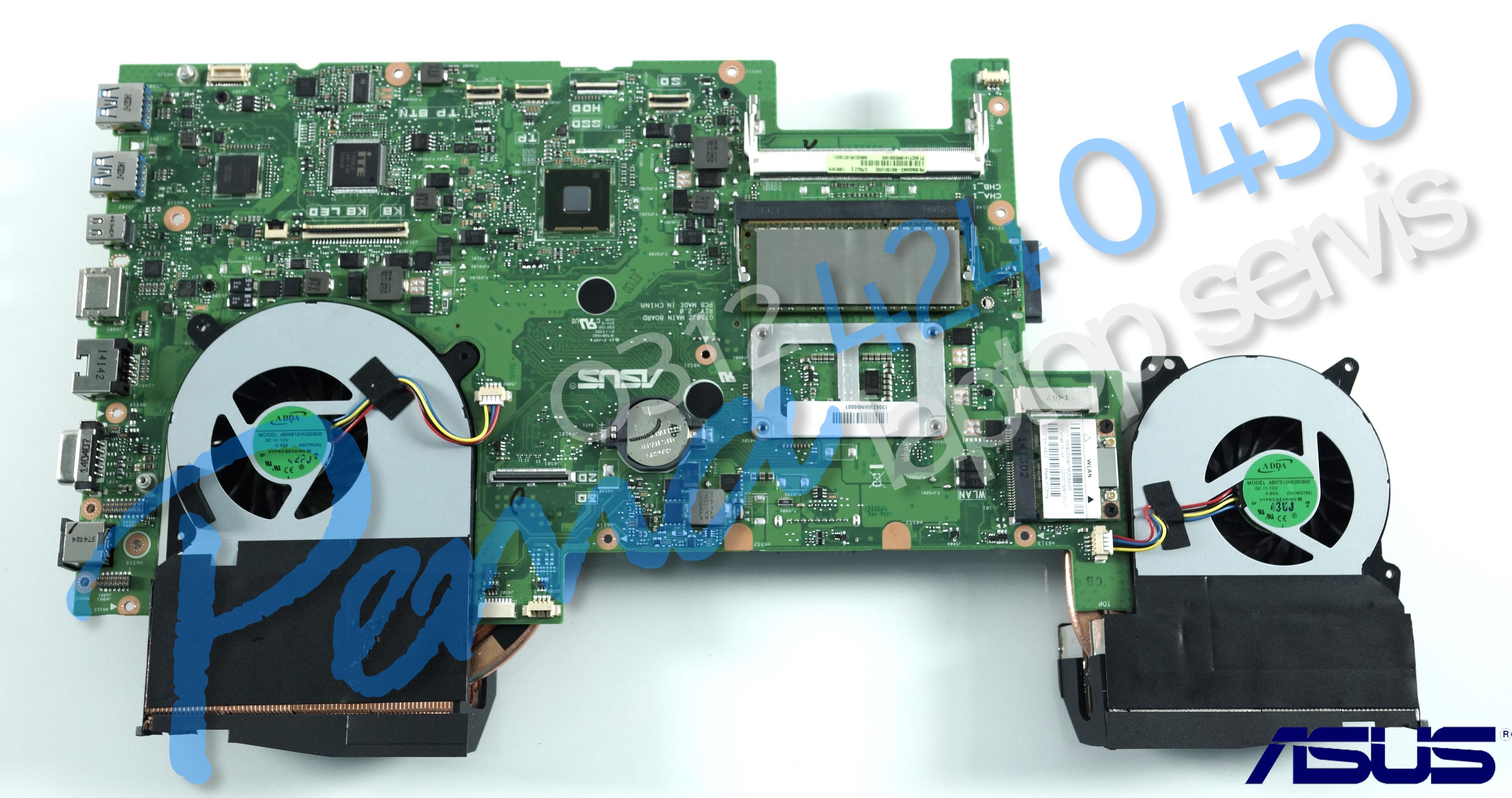 Asus G750 Anakart