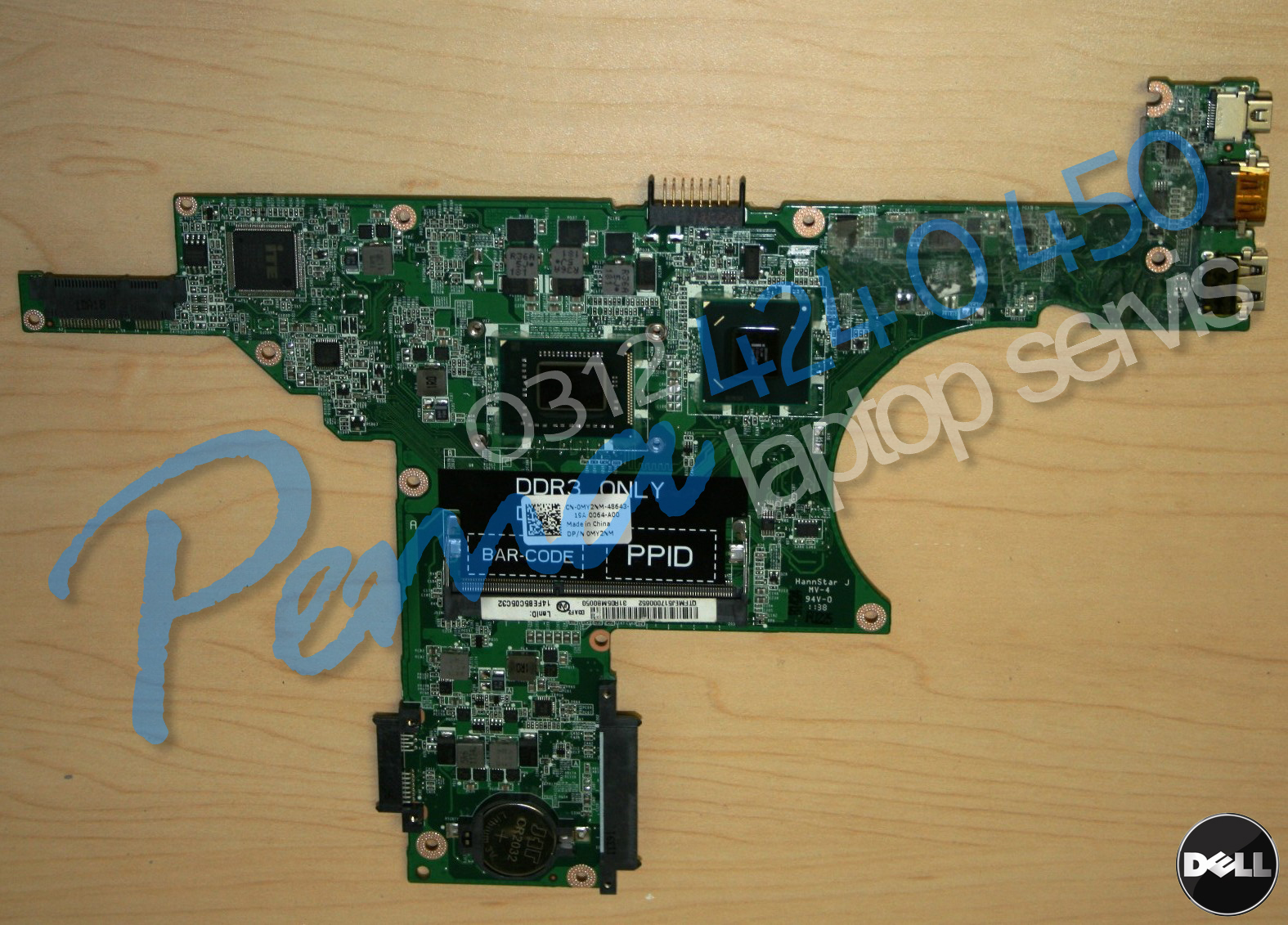 Dell inspiron n411x anakart