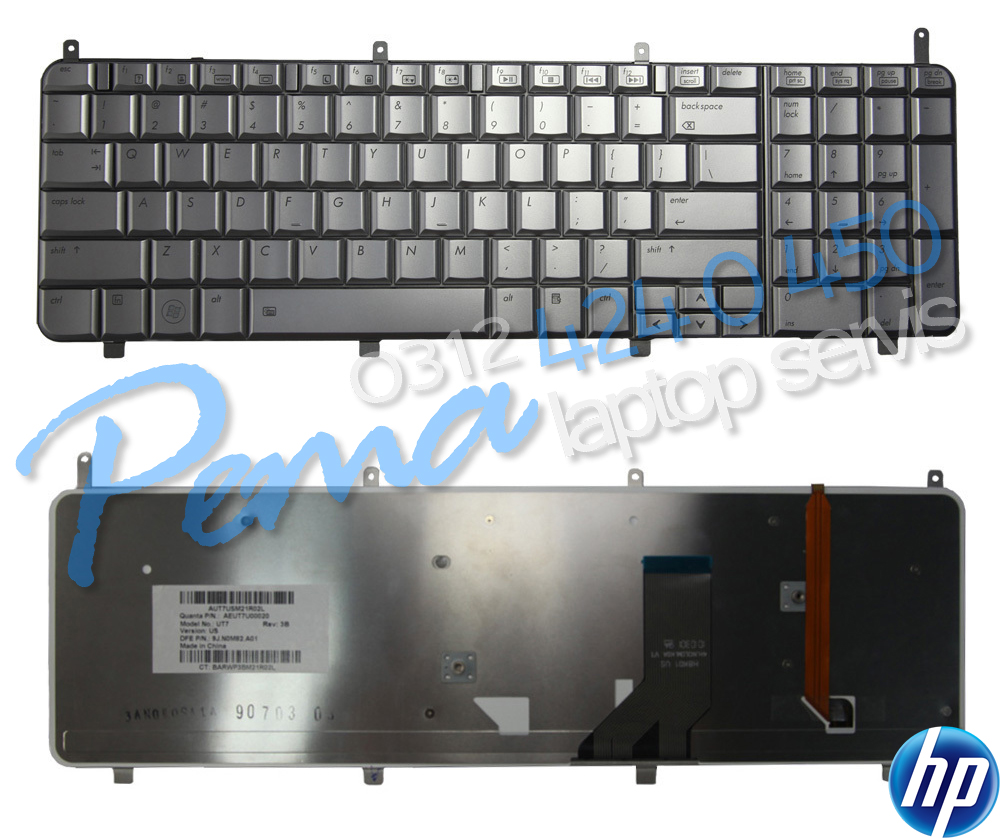 Hp Hdx X18 klavye
