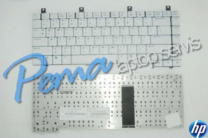 Hp Pavilion zx5000 klavye