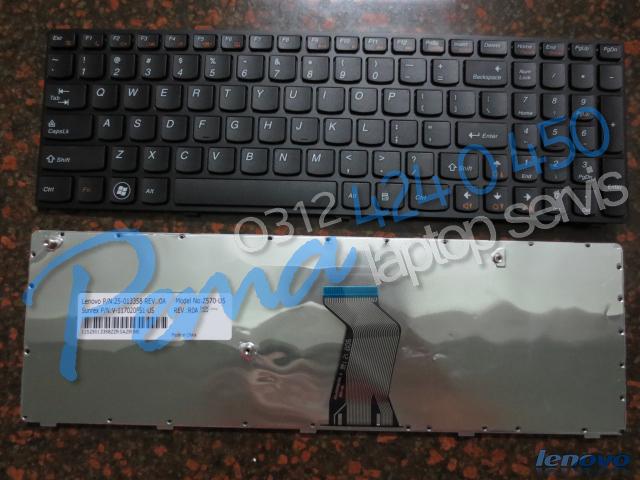 Lenovo B570 klavye