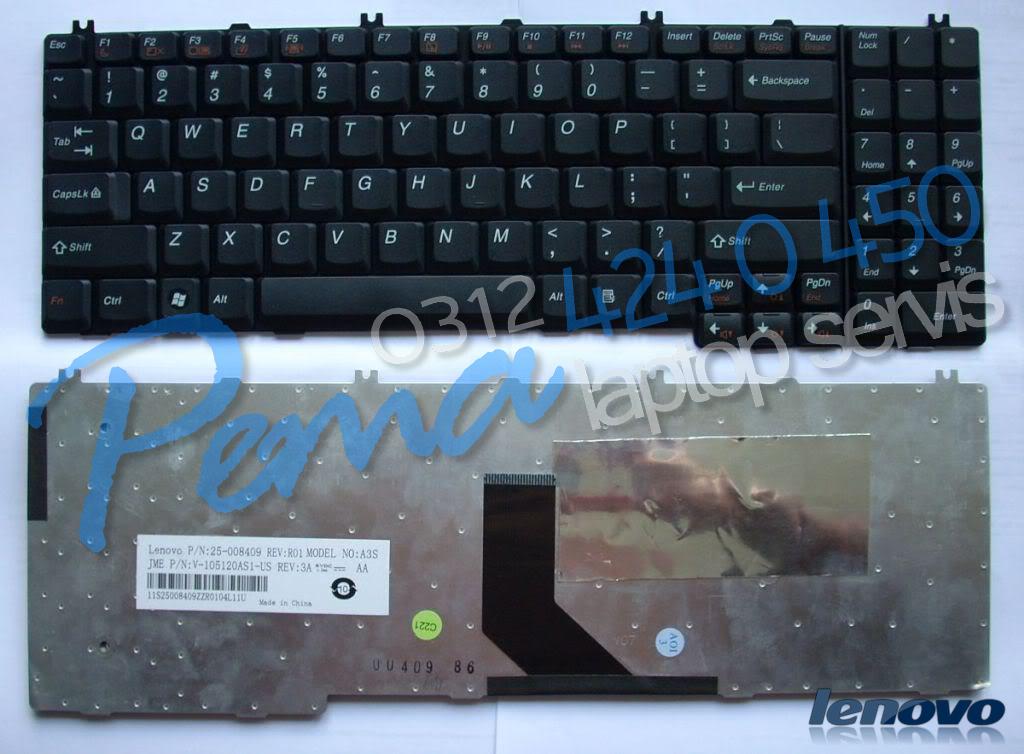 Lenovo G550 klavye