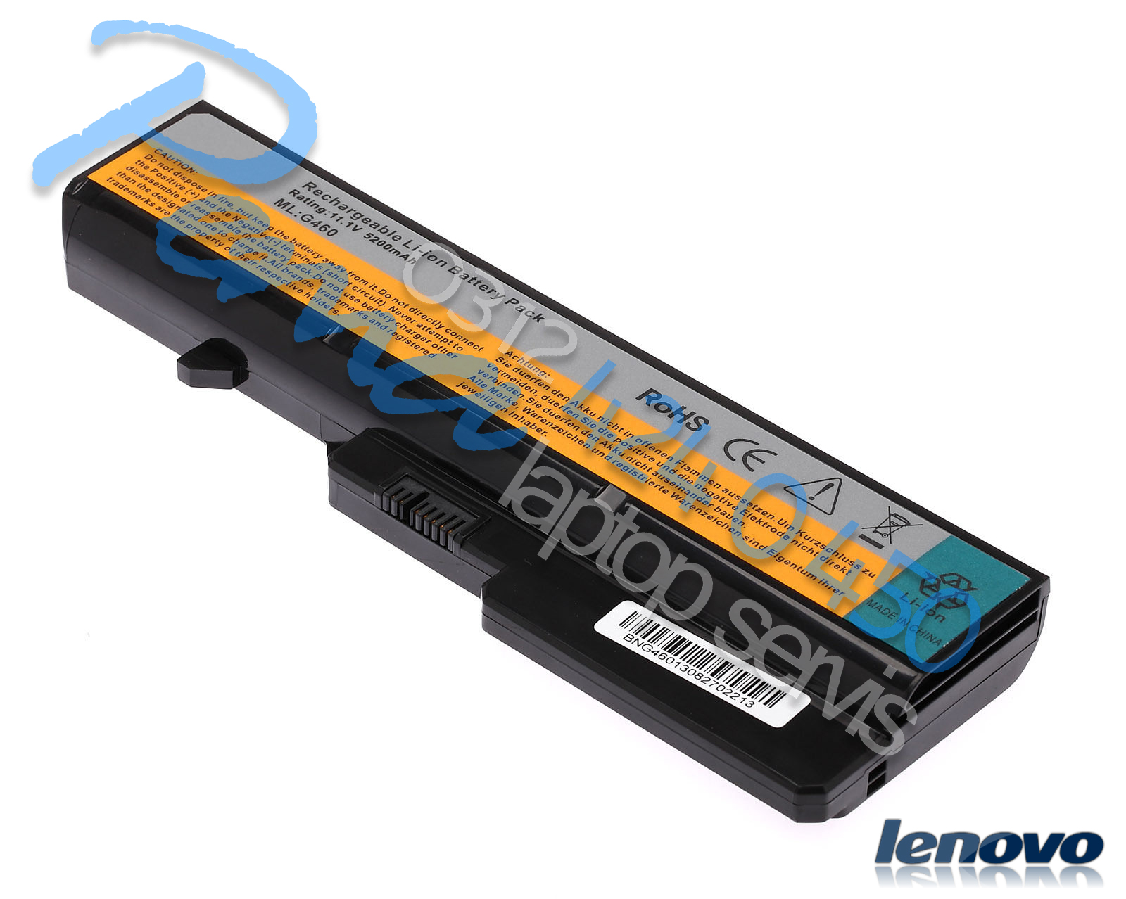 Lenovo G570GC batarya