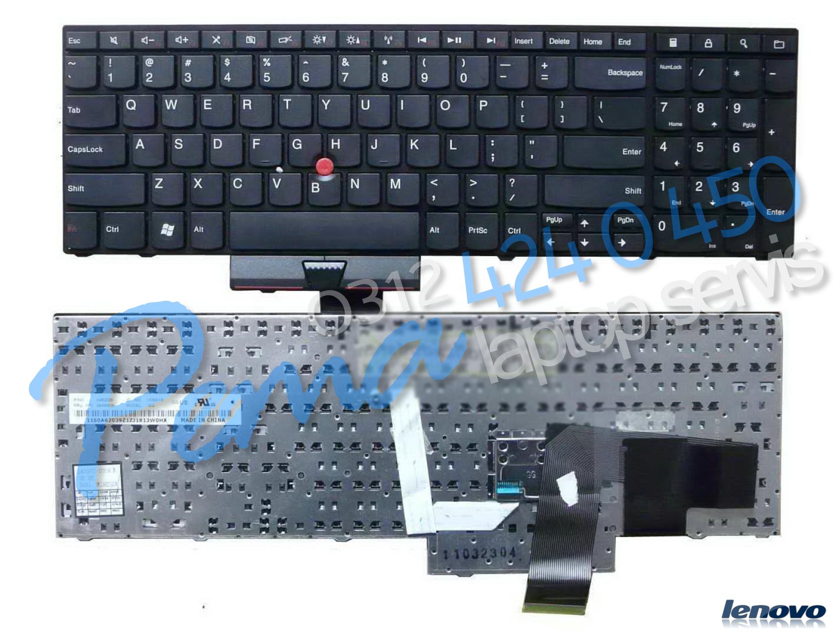 Lenovo ThinkPad E520 klavye