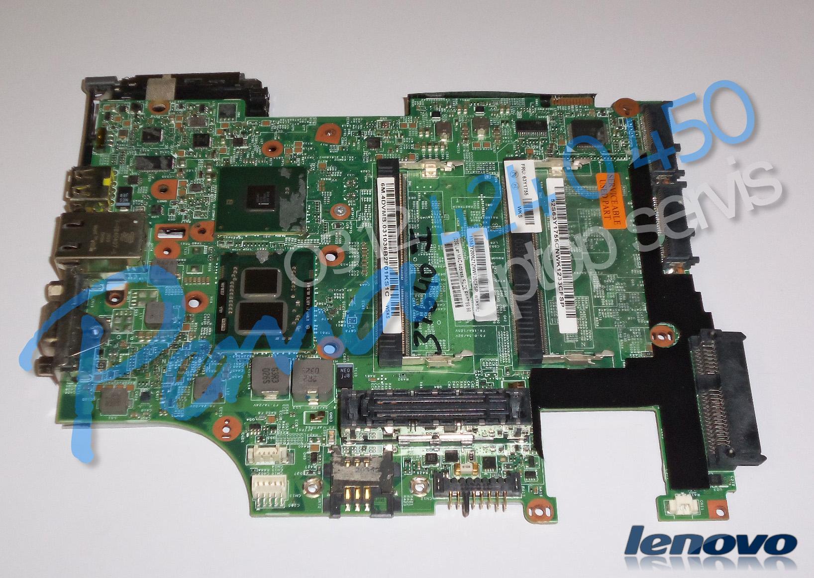Lenovo Thinkpad X201i Anakart
