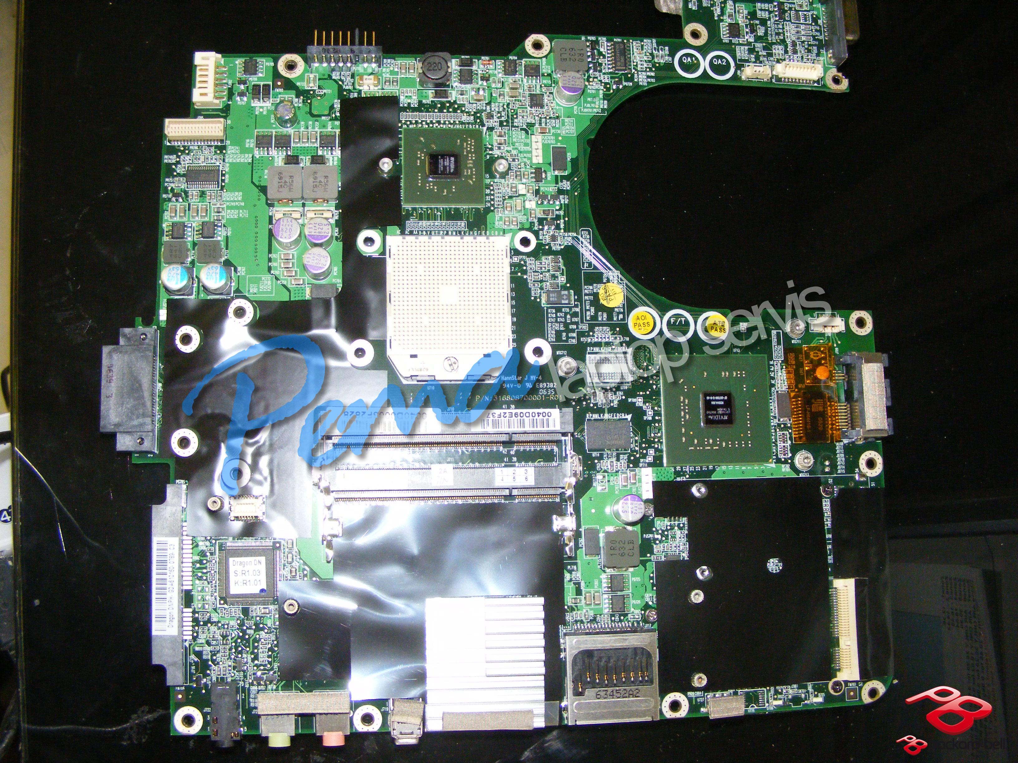 Packard Bell Easynote Ml61 anakart