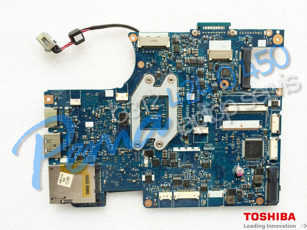 Toshiba Portage T210 Anakart