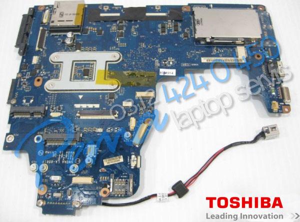 Toshiba Satellite A665 Anakart