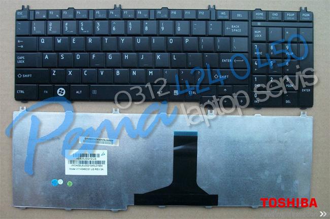 Toshiba Satellite C660 klavye