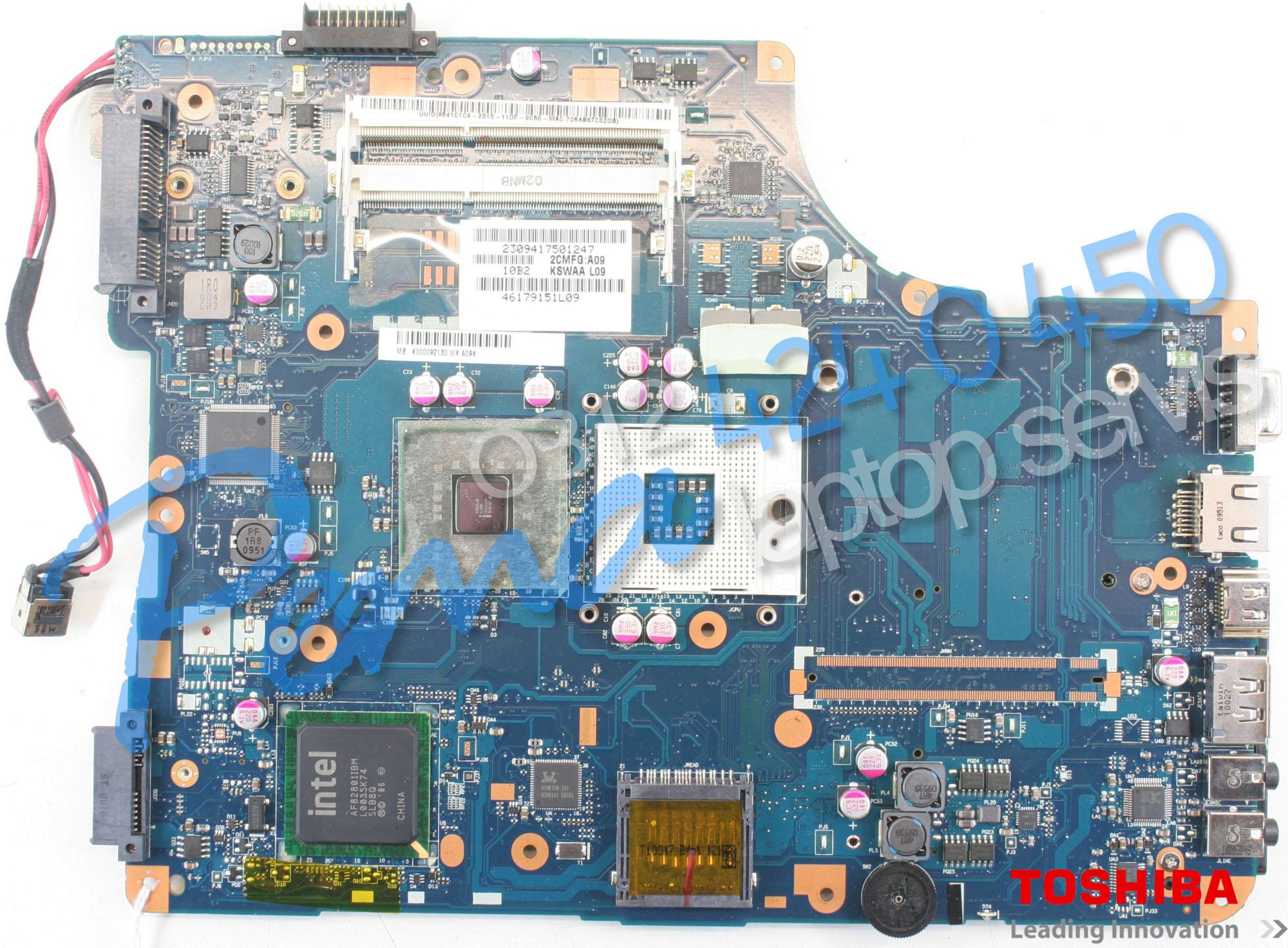 Toshiba Satellite L500 Anakart