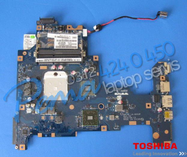 Toshiba Satellite L670d Anakart