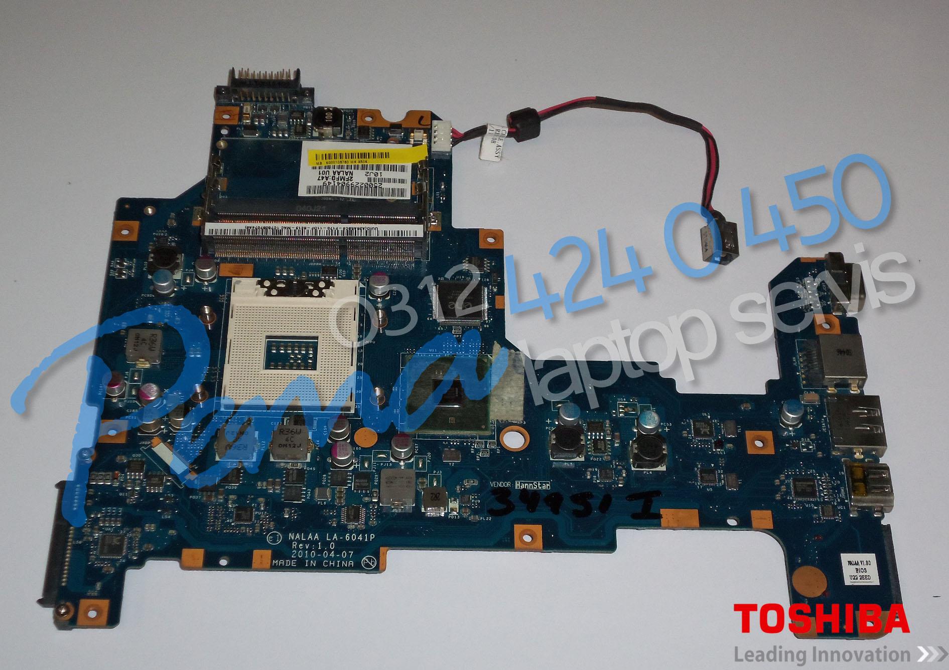 Toshiba Satellite L675 Anakart