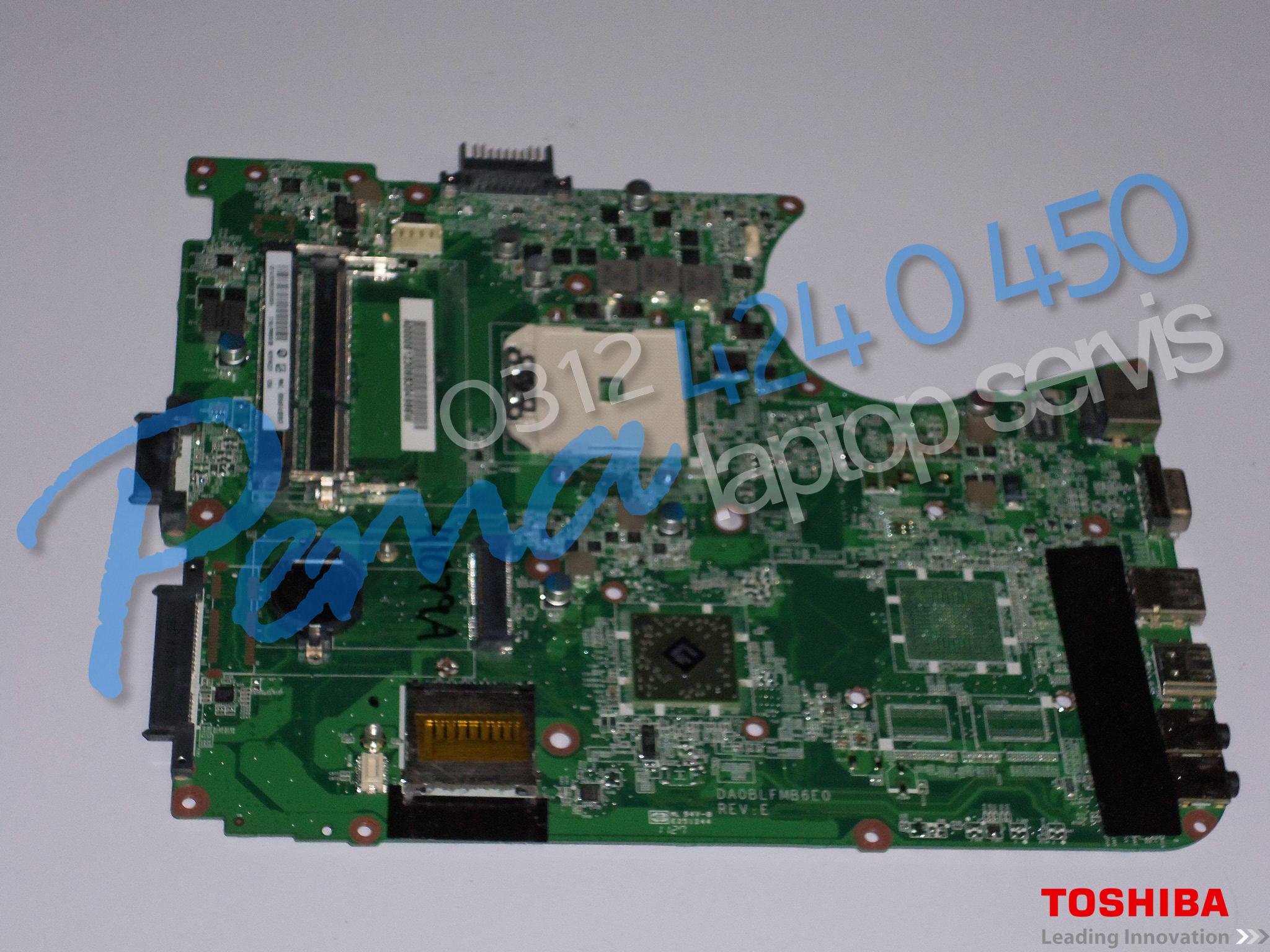Toshiba Satellite L750D anakart