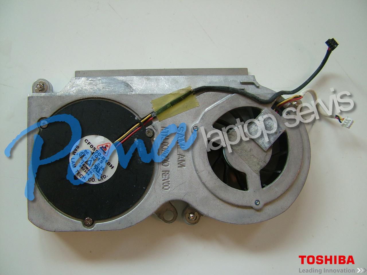 Toshiba Satellite P10 fan