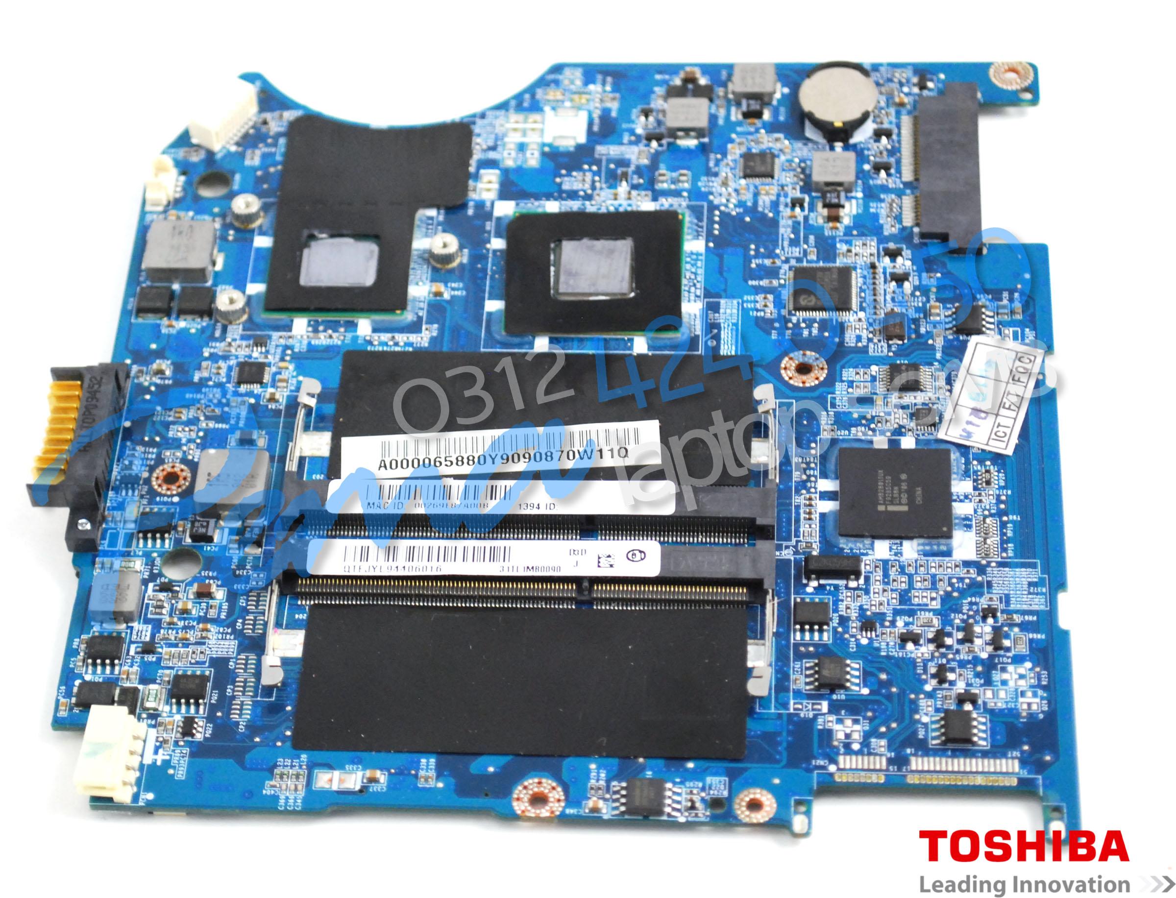 Toshiba Satellite T115-T110 Anakart