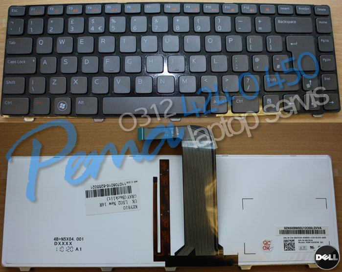 dell XPS L502X klavye