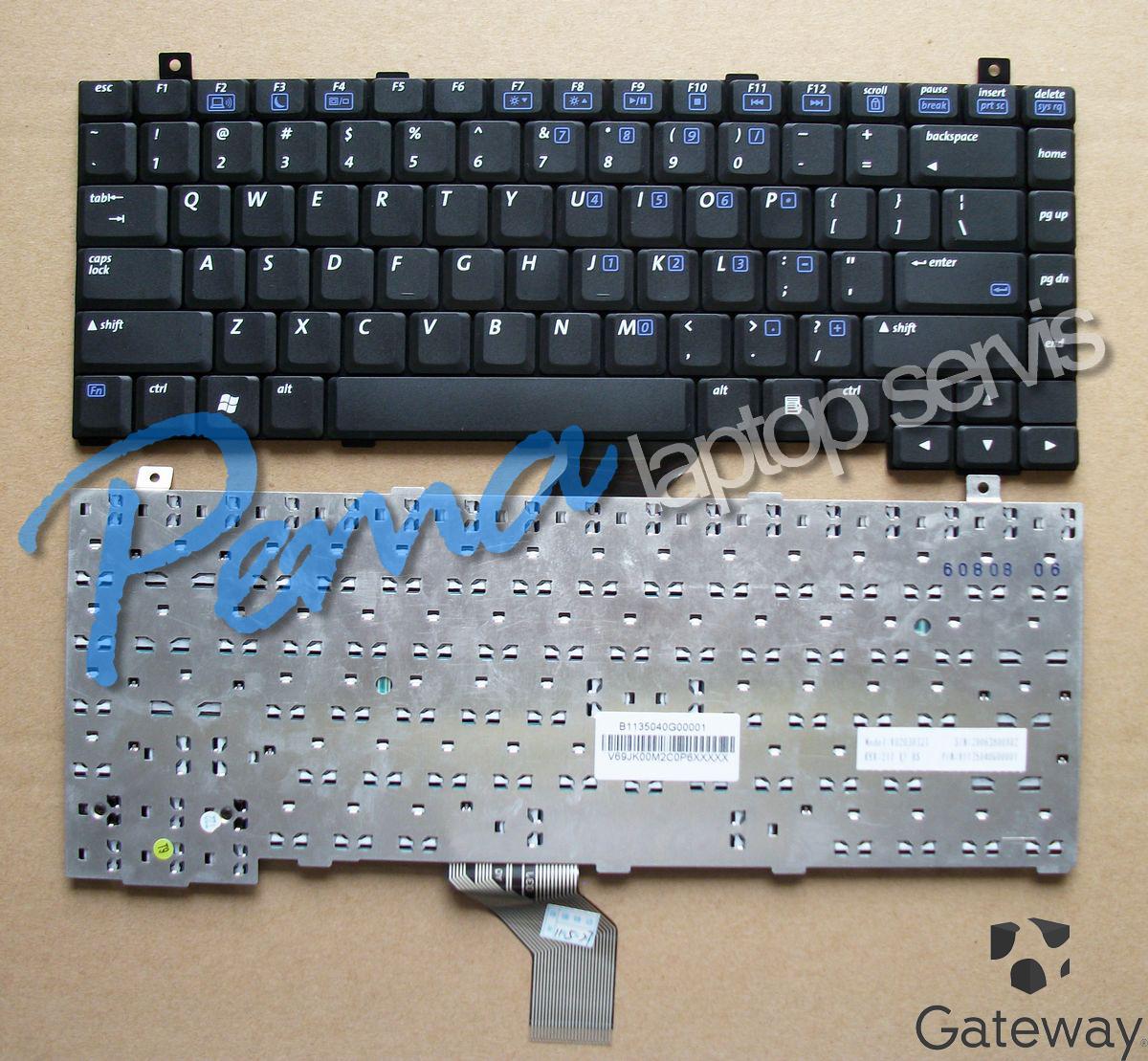 gateway c-140 klavye
