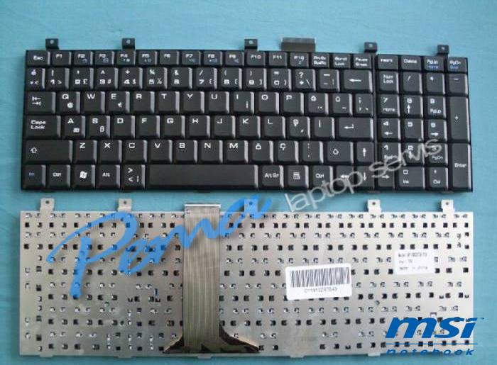 msı ms1682 klavye