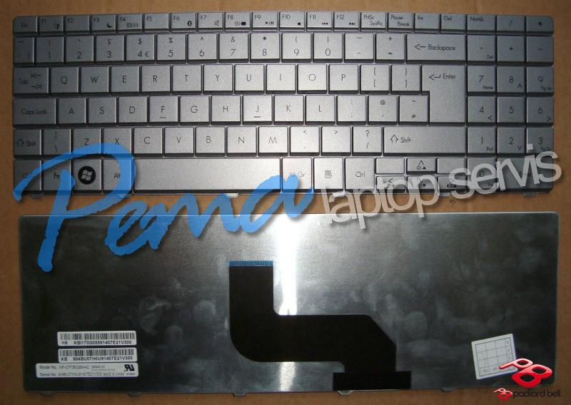 packard bell Easynote Lj61 klavye