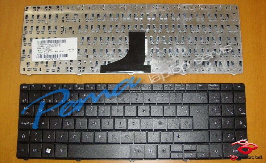 packard bell ts44 klavye
